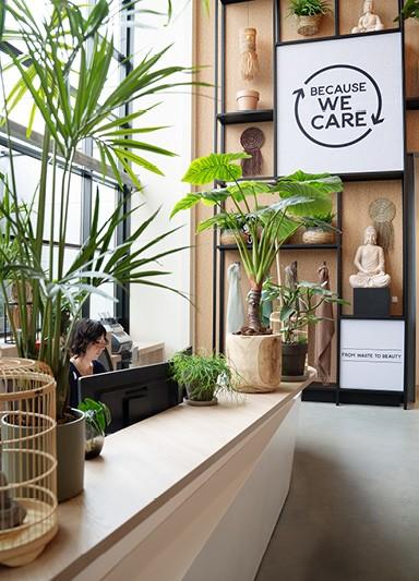 The showroom of Edelman in Reeuwijk, the Netherlands